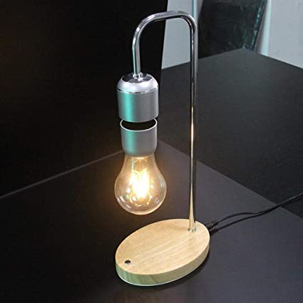 Magnetic Levitating Floating LED Night Light Unique Bulb