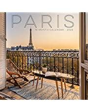 Paris 2022 Wall Calendar