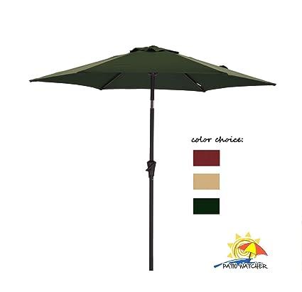 Amazon Com Patio Watcher Outdoor Market Patio Umbrella 7 1 2 Ft