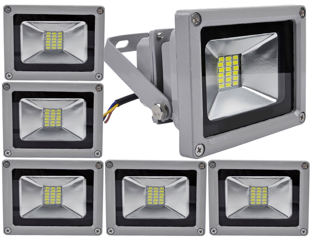 ALPHA DIMA PACK 6 Floodlight SMD LED Foco Proyector LED 20W para ...