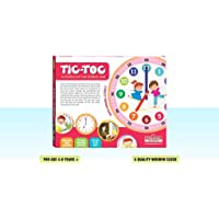 Playmate Tic TOC - Time Learning Educational Game. Age 4 to 8 Years +