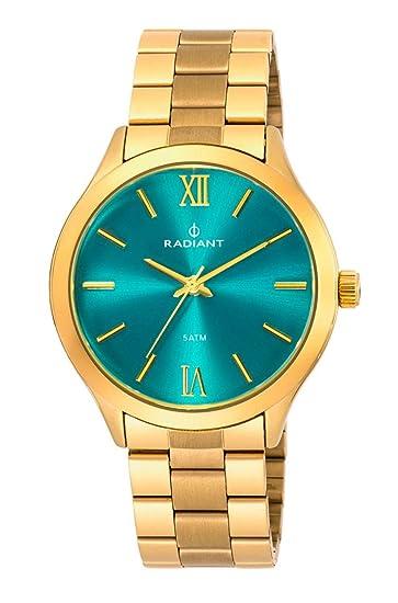 Radiant Reloj Analógico para Mujer de Cuarzo con Correa en Acero Inoxidable RA330205: Amazon.es: Relojes