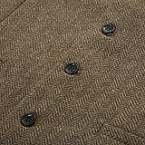 PAUL JONES Men's Irish Vest Button Down Wool Tweed