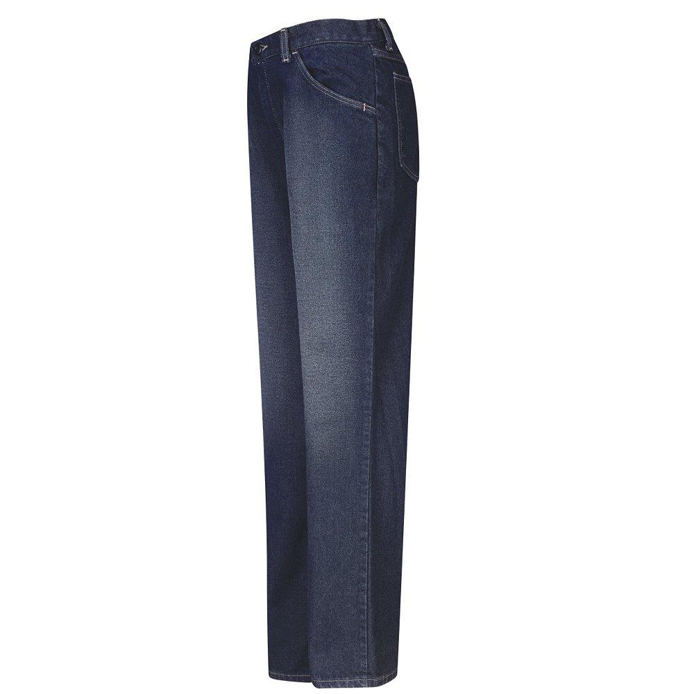 EXCEL FR 1634U Sanded Wash Bulwark Sanded Denim Straight Fit Jean 12.5 oz.