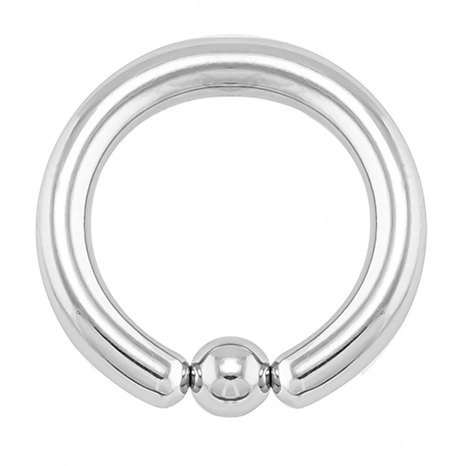 6G Colored Captive FifthCue Titanium IP Over 316L Surgical Implant Grade Steel Bead Ring 12G 4G 8G 2G 10G Sold Individually