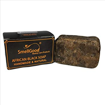 SmellGood Raw African Black Soap