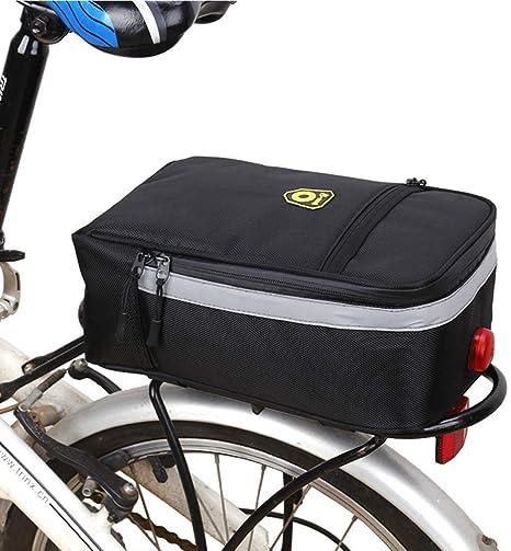 Bolsa de bicicleta Keezshop para bicicleta, bolsa trasera ...