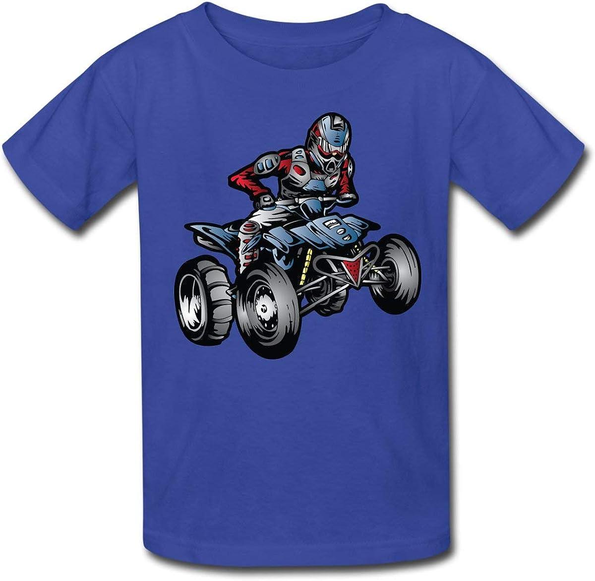 ATV Racer Kids T-Shirt