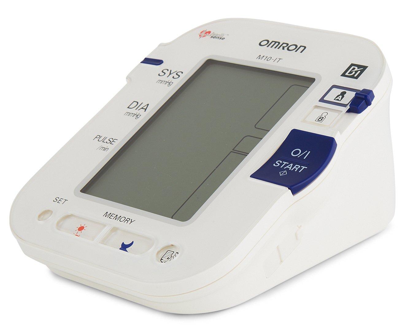 OMRON BLOOD PRESSURE MONITOR- M10 IT: Amazon.es: Salud y cuidado personal