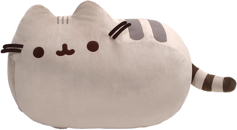 GUND Pusheen Cat Super Jumbo Plush Stuffed Animal, Gray, 41