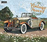 "LANG - 2018 Wall Calendar - ""Vintage Travel"", Artwork by Tim Coffey - 12 Month - Open 13 3/8"" X 24"""