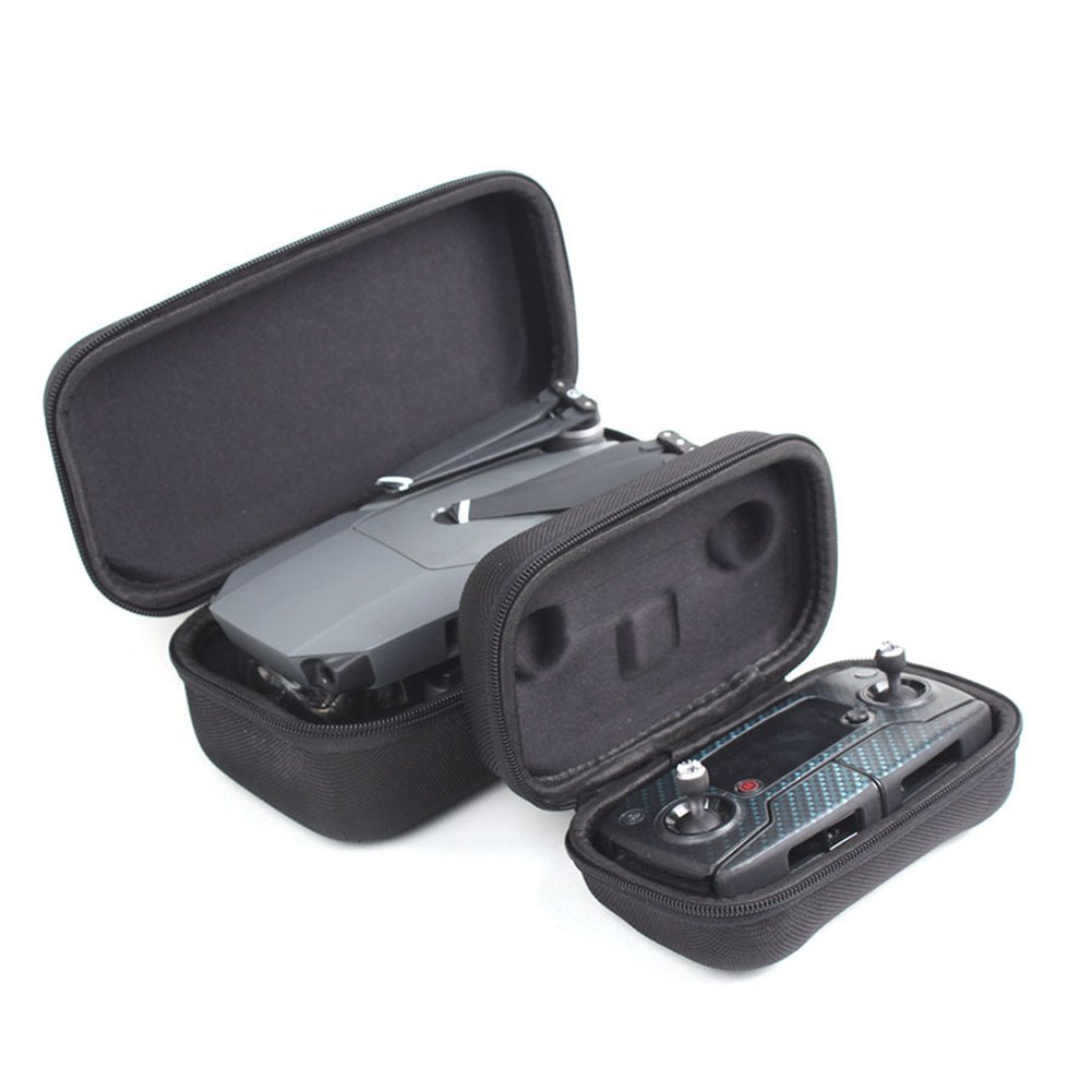 imoli Hard Carrying Case Bundle for DJI Mavic Pro and Remote Controller Black
