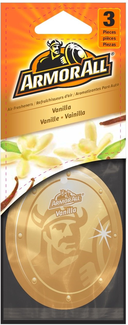 ArmorAll 17798 Vanilla Air Freshener44; Pack of 3