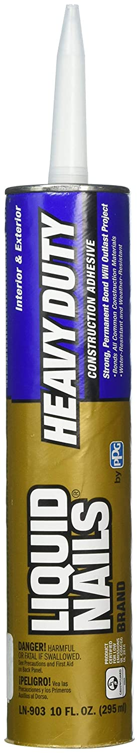 Liquid Nails LN 903 6 Pack Heavy Duty Construction Adhesive Tan