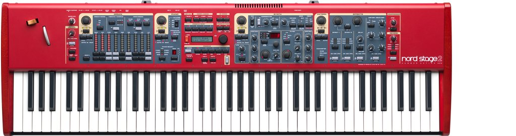 Clavia DMI AB Nord Stage 2 HA76 - Teclado MIDI (USB, 112,1 cm, 33,4 cm, 11,8 cm): Amazon.es: Instrumentos musicales
