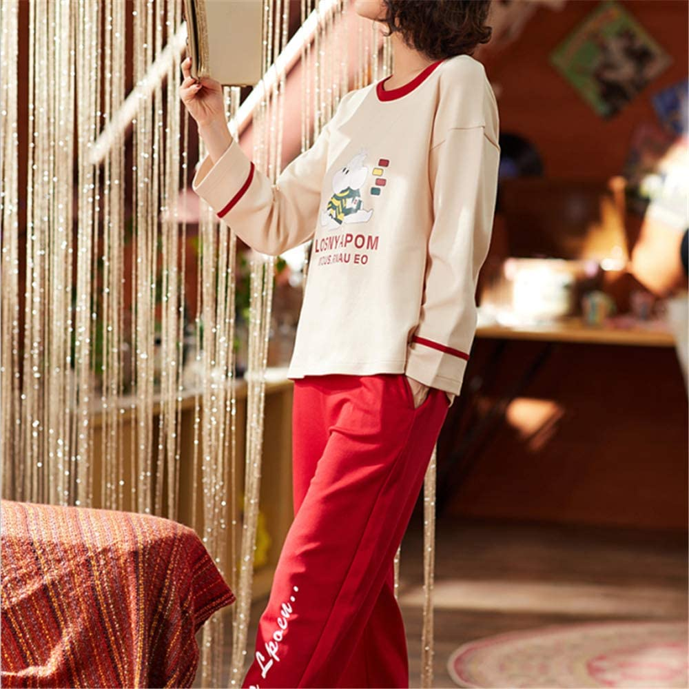 DUXIAODU Pijama de algodón para Mujer   Suave y cómodo ...