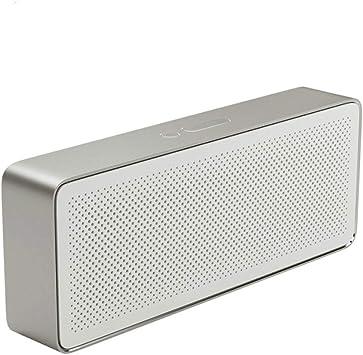 Altavoz Bluetooth Caja Cuadrada 2 Estéreo Portátil Bluetooth 4.2 ...
