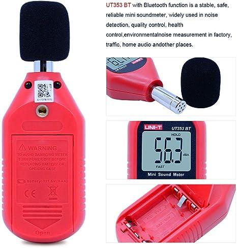 Size : 50.33.159.5mm Aohi WXQ-XQ Mini Noise Meter High Precision Decibel Meter Sound Level Meter Noise Meter Noise Detector