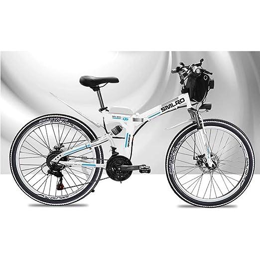 KOSGK Bicicleta MontañA EléCtrica Bicicleta para NiñOs 48 V ...