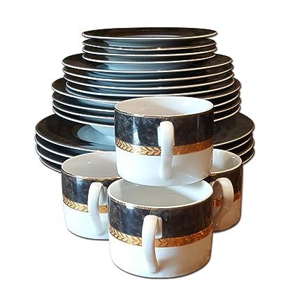 Retroneu Imperial Collection Dinnerware Set  sc 1 st  Amazon.com & Amazon.com | Retroneu Imperial Collection Dinnerware Set: Dinnerware ...