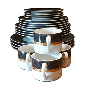 Retroneu Imperial Collection Dinnerware Set  sc 1 st  Amazon.com & Amazon.com | Retroneu Imperial Collection Dinnerware Set: Dinnerware ...