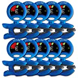 10 Pack of Snark SN-1 Chromatic Guitar/Instrument Tuners