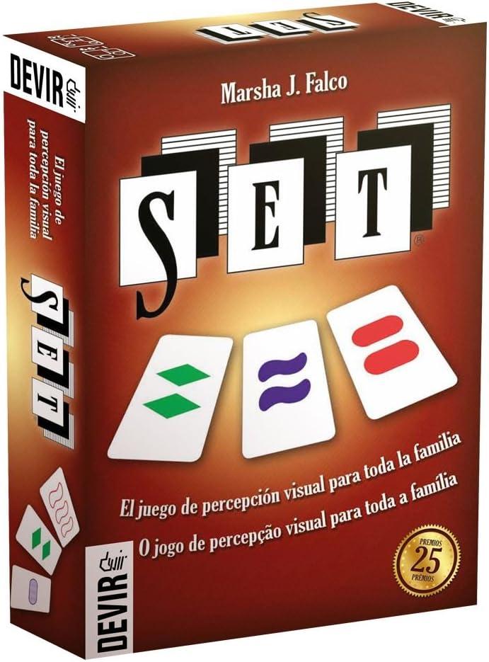 Devir - Set, Juego de Mesa (222944): Amazon.es: Juguetes y juegos