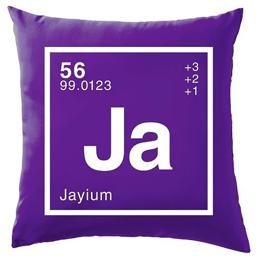 Jay - Periódica Elemento - Cojín 41 x 41 cm (16