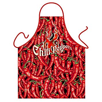 U0026quot;Chili Peppersu0026quot;   Kitchen Apron ...