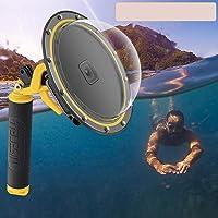 Hifuture Dome Port voor GoPro Hero 9 waterdichte camera-behuizing 30 m onderwater afdekking aansluiting deksel behuizing…
