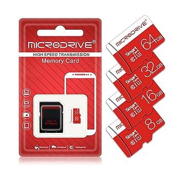 BAIYI Tarjeta de Memoria UHS-I con Adaptador, 8GB 16GB 32GB ...