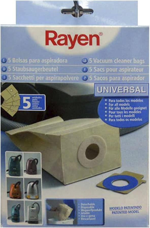 Rayen 6386.50 - Bolsa para aspirador, color marrón: Amazon.es: Belleza