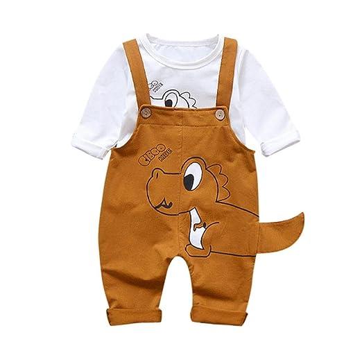 894fce638 Amazon.com  Jarsh Toddler Infant Baby Boys Girl Dinosaur Print ...