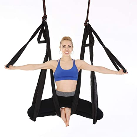 Amazon.com : BSTOOL Aerial Yoga Swing Set - Yoga Hammock ...