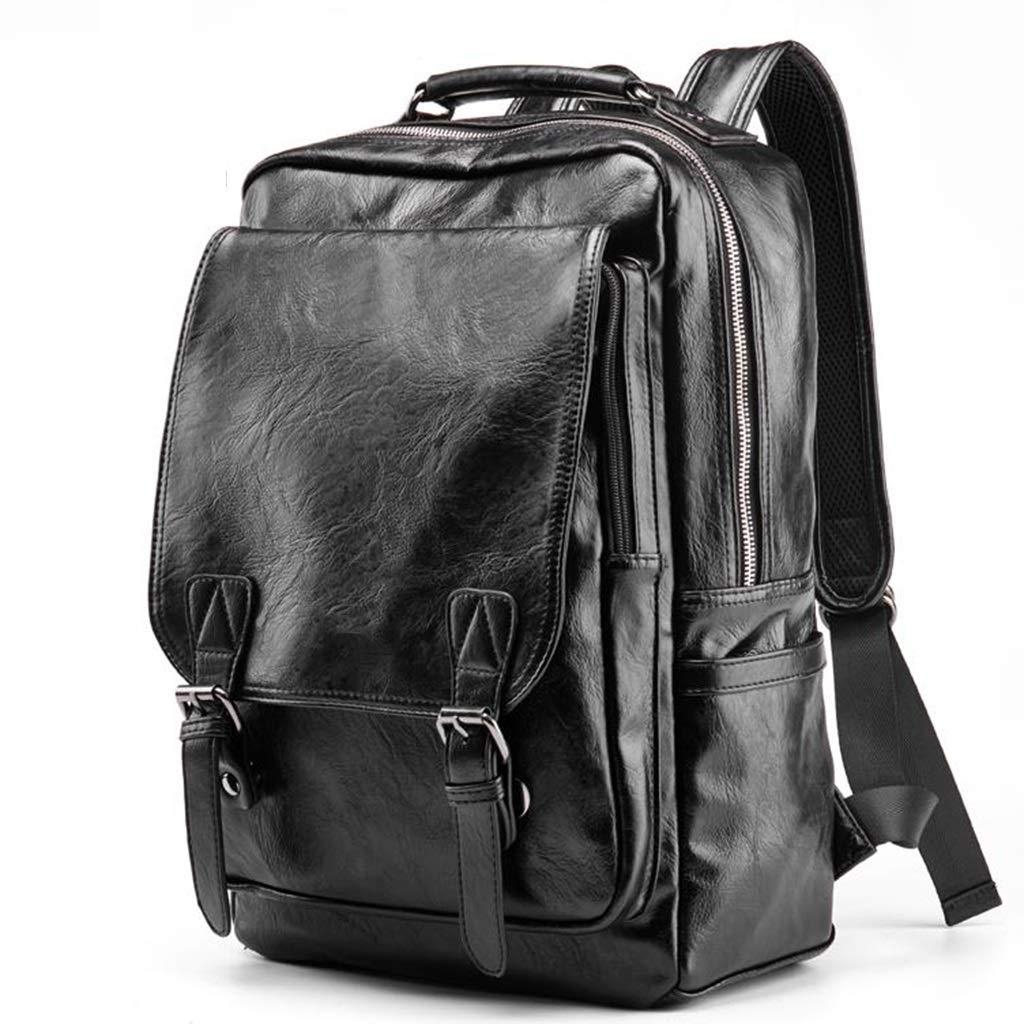 学生用バッグ、男の子用防滴バックパック、軽量および携帯可能、尾根を減らす、黒 LIUXIN B07V569BNT