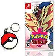 Pokemon Shield - Nintendo Switch- Versão Amazon Com Chaveiro Pokebola