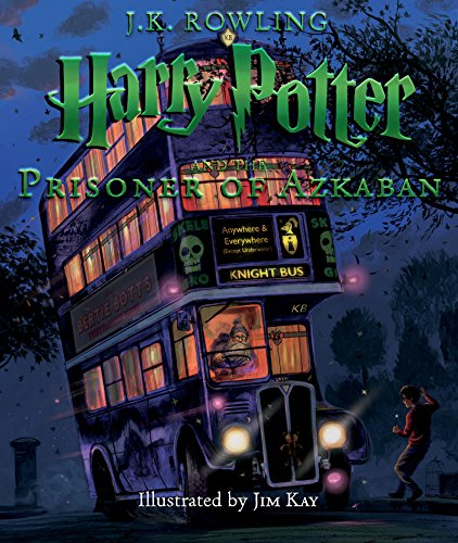 Harry Potter and the Prisoner of Azkaban Illustrated Edition - HPB