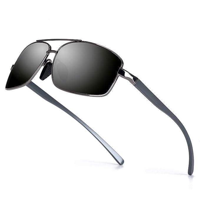 Amazon.com: Gafas de sol polarizadas deportivas para hombre ...