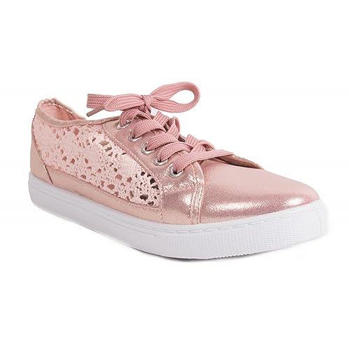 Sneakers rosa per donna Primtex oco817