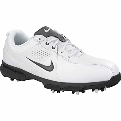low priced 9dcba 4fc80 Nike Mens Durasport III Golf Shoes (8.5 D(M) US, White