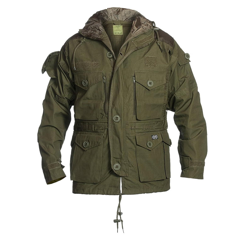 mfh men s commando jacket smock od green amazon co uk clothing