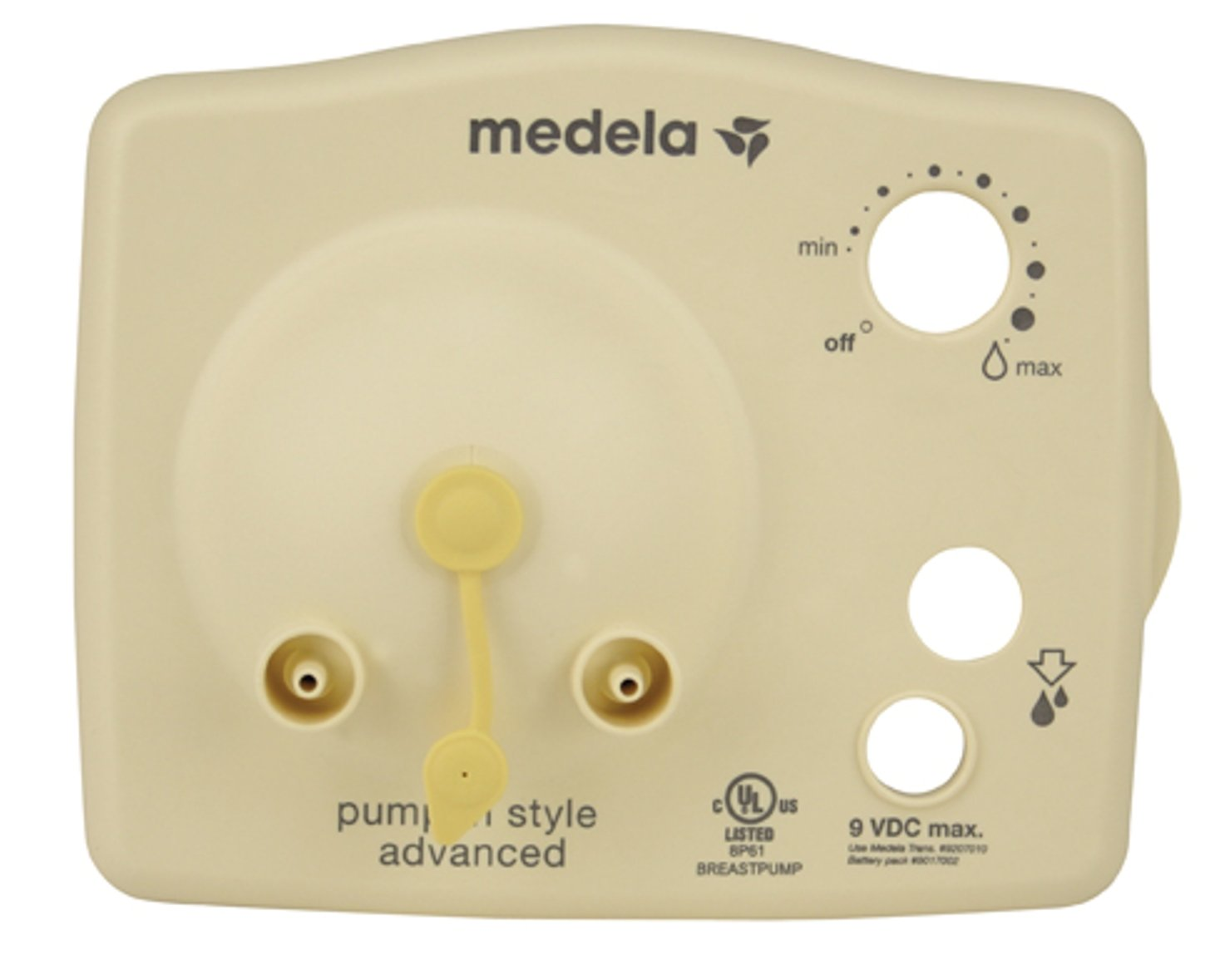 Medela Pump in Style Diaphragm Cap Faceplate – Spare Medela Pump Faceplate, Convenient Replacement Medela Parts for Pump in Style Advanced Breast Pump, Part Number 6007132
