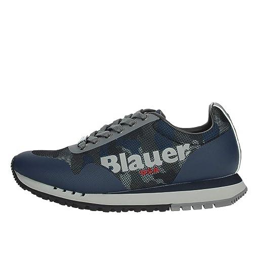 ric038a7e scarpe blauer uomo denver01 verdi
