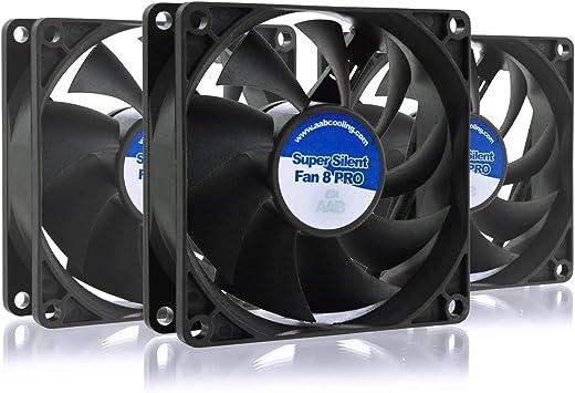 AAB Cooling Super Silent Fan 8 Pro: Amazon.es: Electrónica
