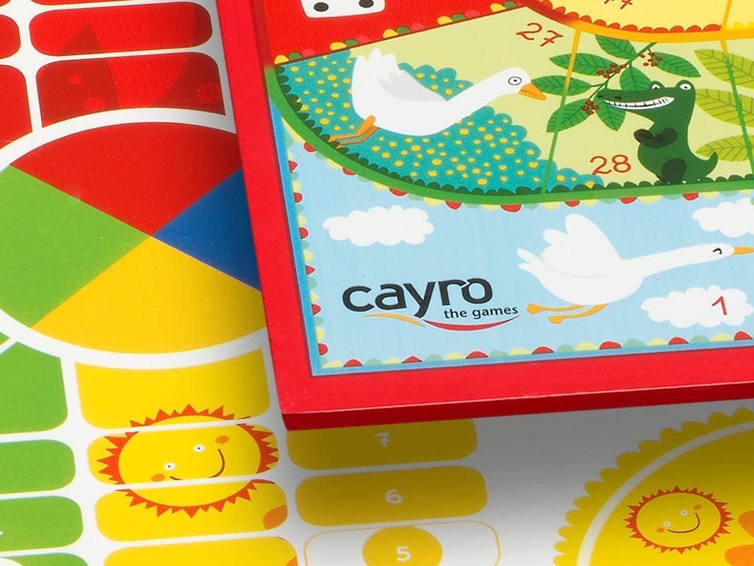 Cayro Box Ludo Legno Oca