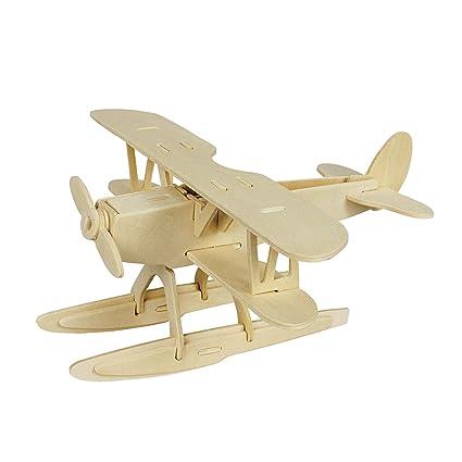 Marvelous Diy Hydroplane Wooden Puzzle 3D Toy Kit Creative Puzzle Model Kits 28 Piece Building Kit Uwap Interior Chair Design Uwaporg