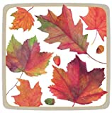 Thanksgiving Paper Plates Thanksgiving Dessert Plates Thanksgiving Table Decor Autumn Leaves Pk 16