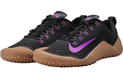 new concept 1503b 4f4ed Nike Mens Free Trainer 1.0 Bionic Training Shoes Size 10.5 Black Purple Gum