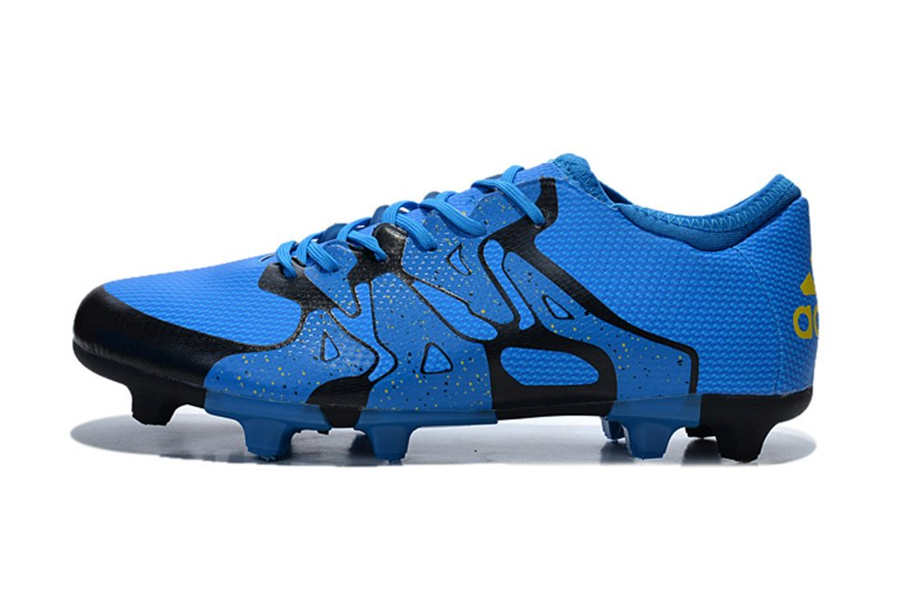 Generic Herren 's X 15,1 FG AG blau Niedrig Fußball Schuhe Fußball Stiefel