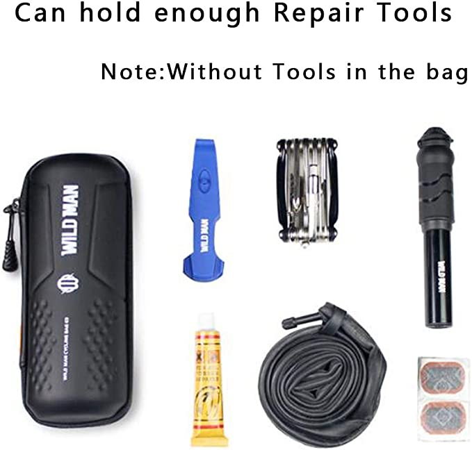 Hard Shell Portable Storage Bicycle Tool Bag Bike Repair Tool Box Capsule Case
